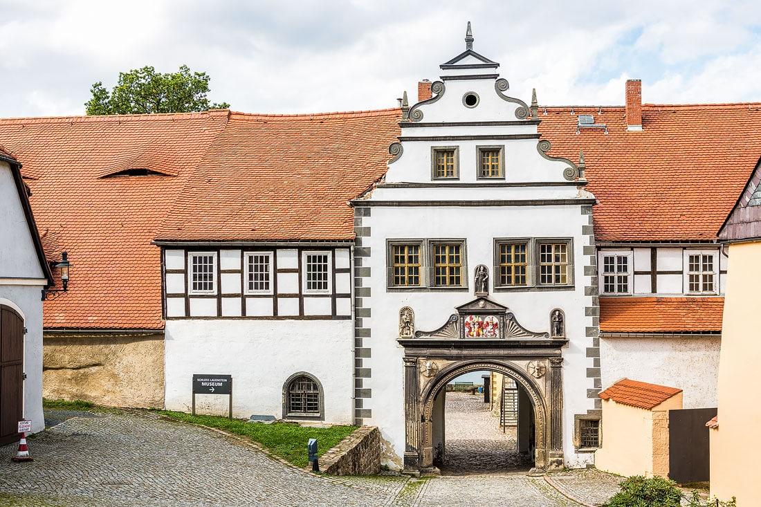 11 - Schloss Lauenstein, Montane Kulturlandschaft Erzgebirge, UNESCO Weltkulturerbe, Montanregion, Bilder Bergbau, Fotos Architektur