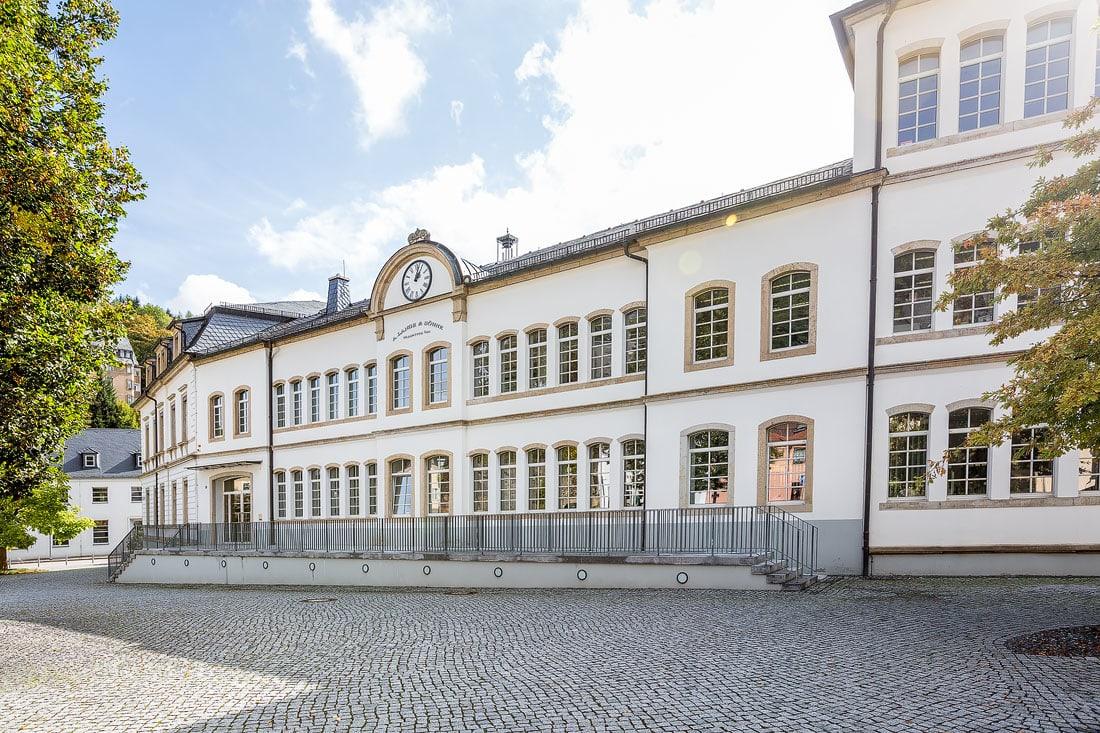 15 - Bilder Deutsches Uhrenmuseum Glashütte, Montane Kulturlandschaft Erzgebirge, UNESCO Weltkulturerbe, Montanregion, Bilder Bergbau, Fotos Architektur