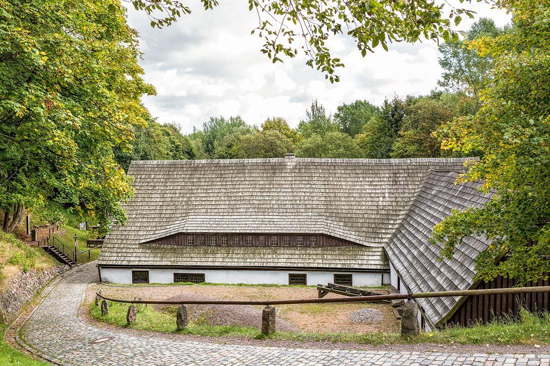 2 - Pochwäschen IV in Altenberg, Montane Kulturlandschaft Erzgebirge, UNESCO Weltkulturerbe, Montanregion, Bilder Bergbau, Fotos Architektur