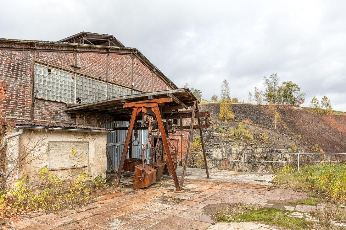25 - Fotoreportage Hüttenkomplex Muldenhütten, Montane Kulturlandschaft Erzgebirge, UNESCO Weltkulturerbe, Montanregion, Bilder Bergbau, Fotos Architektur