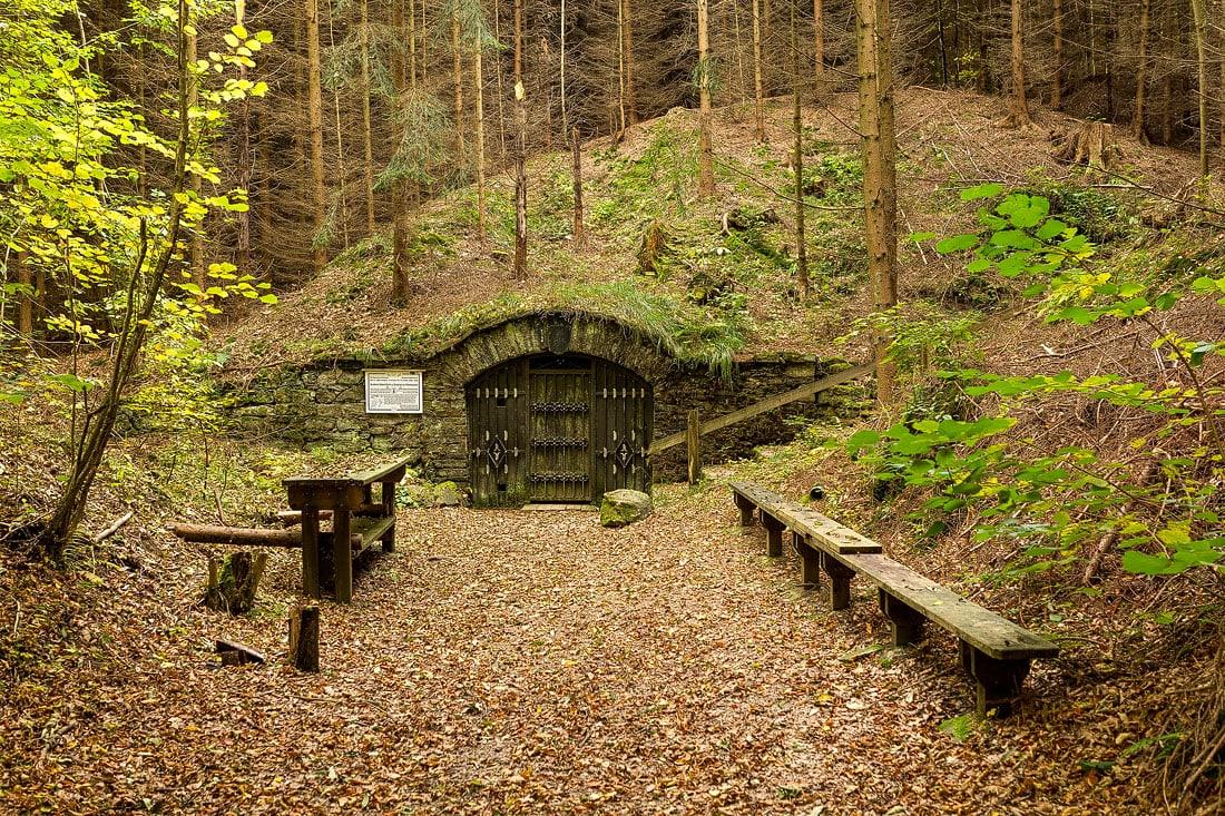 31 - Bilder Grube Segen Gottes Erbstolln, Montane Kulturlandschaft Erzgebirge, UNESCO Weltkulturerbe, Montanregion, Bilder Bergbau, Fotos Architektur