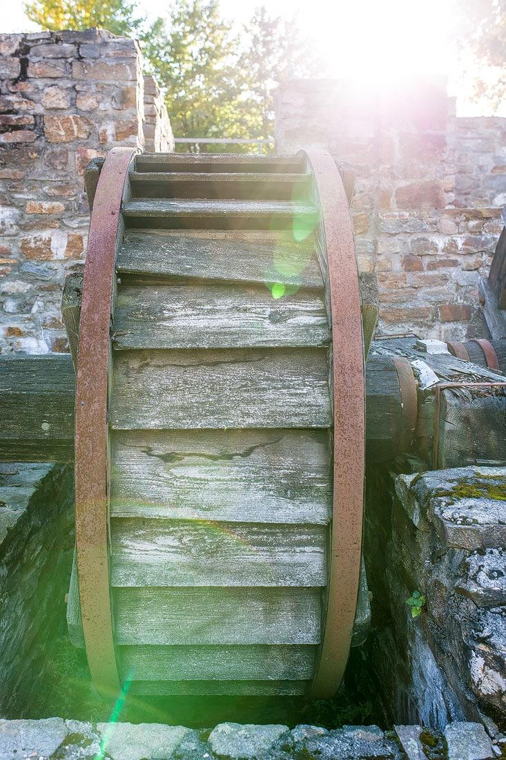 44 - Bilder Saigerhüttenkomplex Grünthal, Montane Kulturlandschaft Erzgebirge, UNESCO Weltkulturerbe, Montanregion, Bilder Bergbau, Fotos Architektur