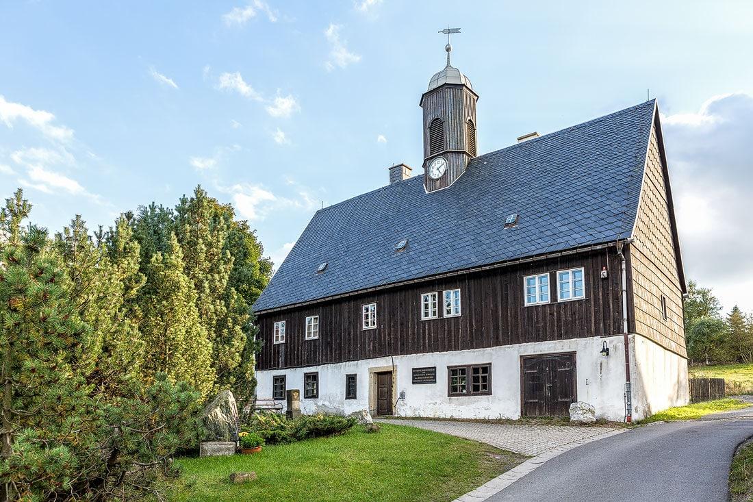 7 - Montanregion Erzgebirg Huthaus Zinnwald, Montane Kulturlandschaft Erzgebirge, UNESCO Weltkulturerbe